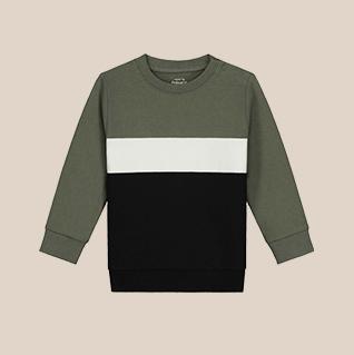 Shop color blocking sweater