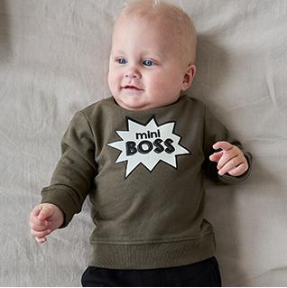 Shop mini boss sweater